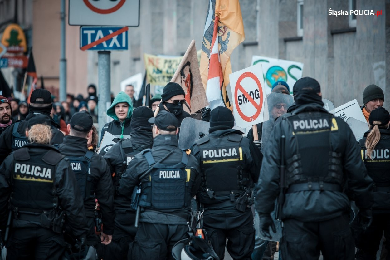 """""""marsz Dla Klimatu"""" - Interweniowali Policjanci"""