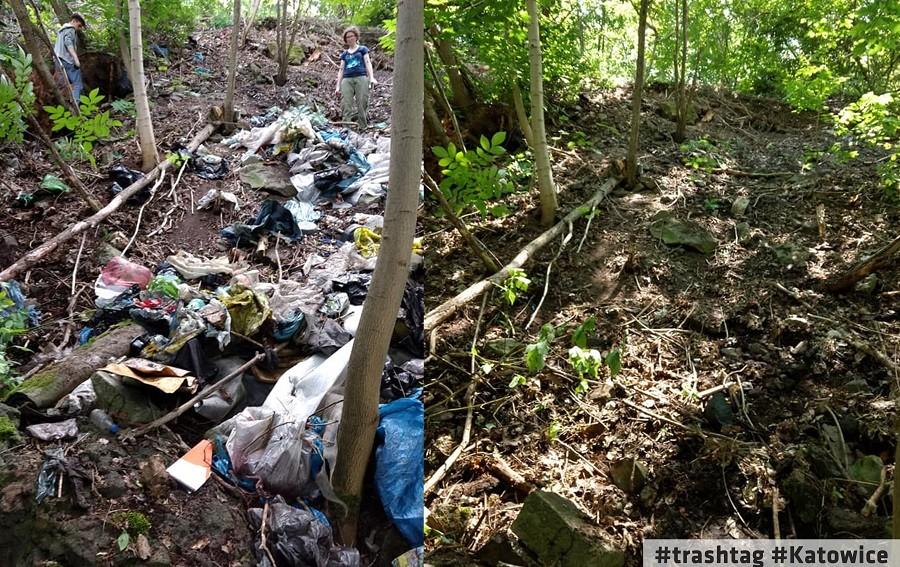 Śmieciowe Wyzwanie  #trashtag