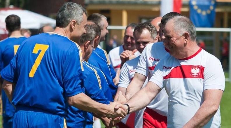 Mecz Polska-Ukraina Na Tyskiej Murawie
