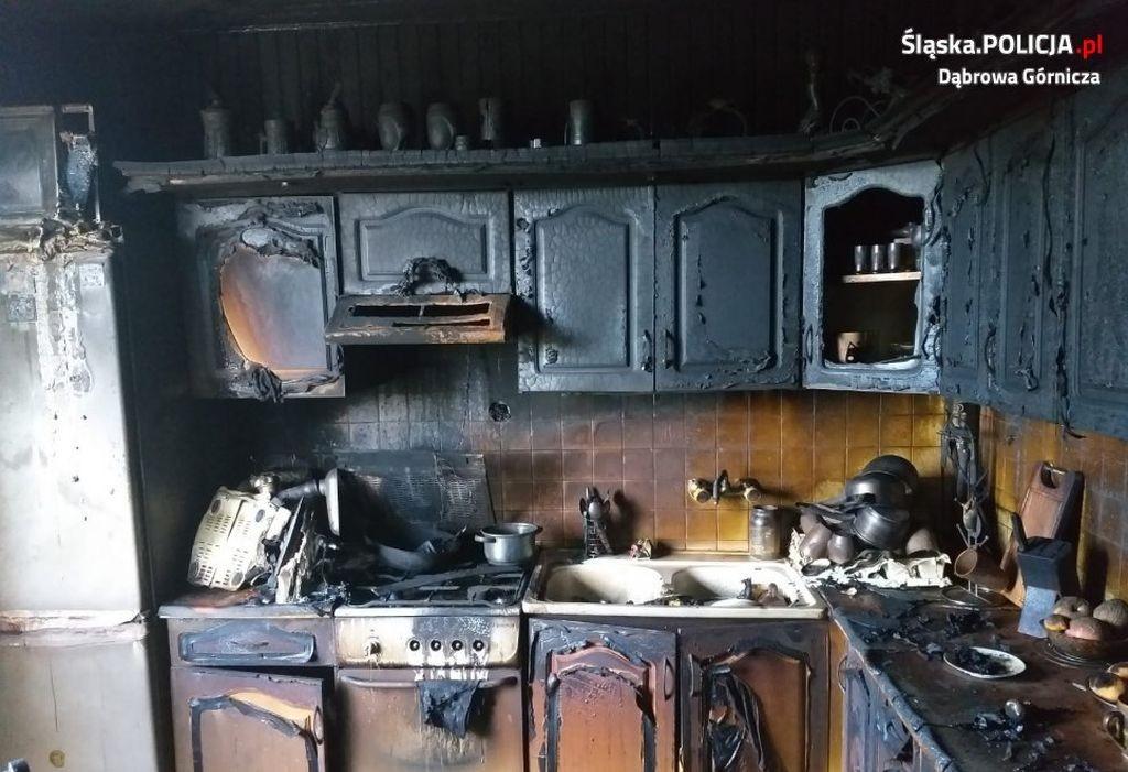 Policjant I Jego Rodzina W Pożarze Stracili Wszystko. Potrzebna Jest Pomoc