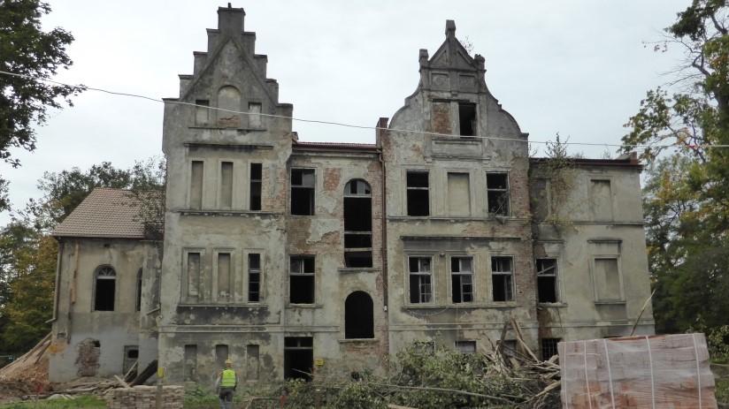 Pałac W Renowacji