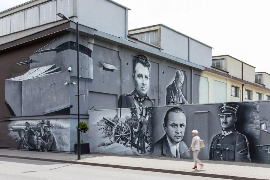Powstańczy Mural Odsłonięty: Robi Wrażenie!