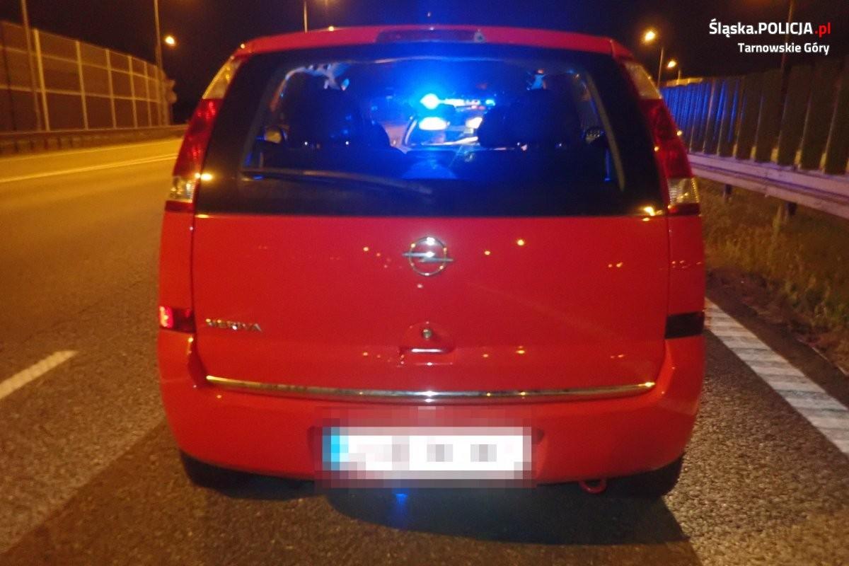 Pijany Zaparkował Na Lewym Pasie A1 Pod Prąd! [Foto]