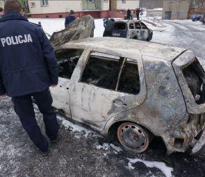 Kto podpala auta w Rudzie Śląskiej?