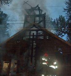 Dzieci spaliły kościół