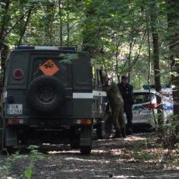 Pocisk znaleziony w lesie