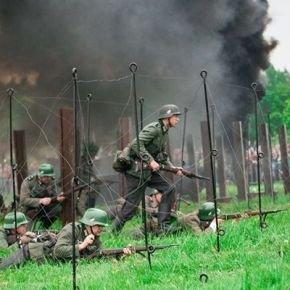 Tłumy oglądały bitwę
