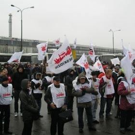 Pracownicy zablokują drogę