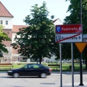 Płatne parkingi w centrum Gliwic