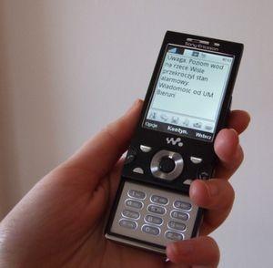 SMS-y ostrzegają o nawałnicach. Nie wszyscy o tym wiedzą