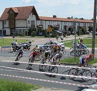 Wyścig kolarski w Tychach