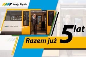 Koleje Śląskie świętują 5. urodziny