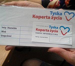Seniorzy dostali koperty
