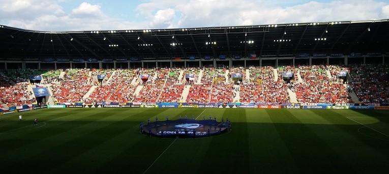 Anglia-Niemcy na stadionie w Tychach