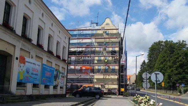 Mural powstaje przy ul. Prusa w Mikołowie