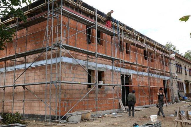 Trwa rozbudowa przedszkola