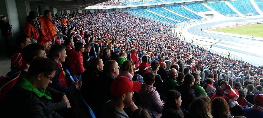 30 tys. gardeł dopingowało reprezentację na Stadionie Śląskim