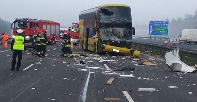 Autobus Zderzył Się Z Cyrkowym Ciągnikiem [Nowe Fakty I Galeria]