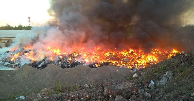 Kontrole Po Pożarze: Nieprawidłowości Na Składowisku